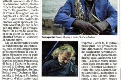 03/2019 Corriere della sera Bergamo Jazz