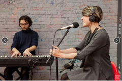 Live Radio Montecarlo with Simona Molinari